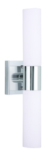 Livex Lighting 10102-05 - 2 Light Polished Chrome Bath Light