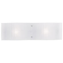 Livex Lighting 1432-05 - 2 Light Polished Chrome Bath Light