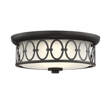 Savoy House 6-2390-14-89 - Sherrill Matte Black LED Flush Mount