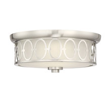 Savoy House 6-2390-14-SN - Sherrill Satin Nickel LED Flush Mount