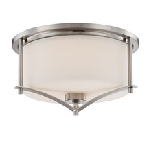 Savoy House 6-335-15-SN - Colton Satin Nickel Flush Mount