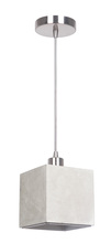 Craftmade P685BNK1 - 1 Light Mini Pendant in Brushed Polished Nickel