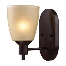 Elk Cornerstone 1301WS/10 - Jackson 1 Light Sconce In Oil Rubbed Bronze