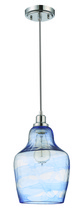 Jeremiah P620CH1 - 1 Light Mini Pendant with Cord in Chrome