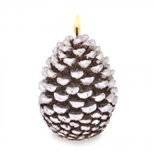 Deco Breeze CDL5510 - Candle - Snow Tip Pinecone Small